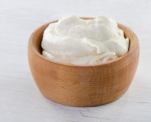 Fresh sour cream