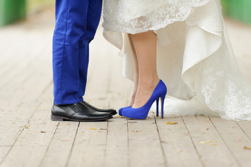 Wedding in Blue Color