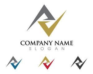V Logo 8