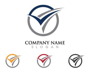 V Logo 9