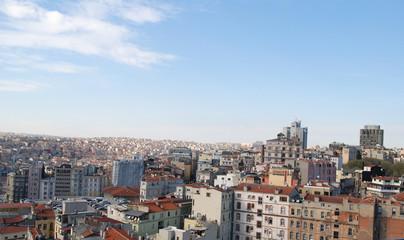 Istanbul panorama view