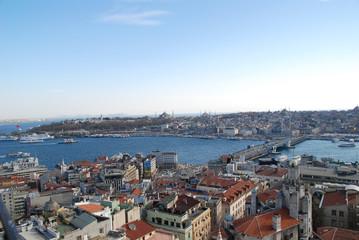 Istanbul panoramic view