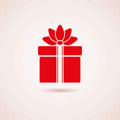 vector gift box icon