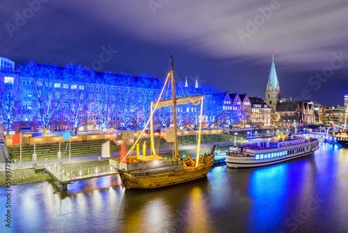 Papiers peints Con. Antique Weihnachtsmarkt in Bremen, Deutschland