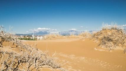 Side Desert Timelapse