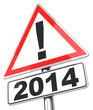 Vorsicht 2014