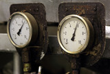 Pressure meter in engine room