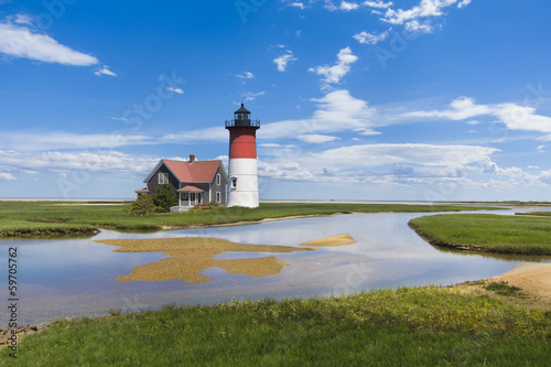 Light house on Cape Cod, MA. USA