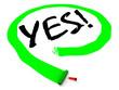 Yes! Положительный выбор
