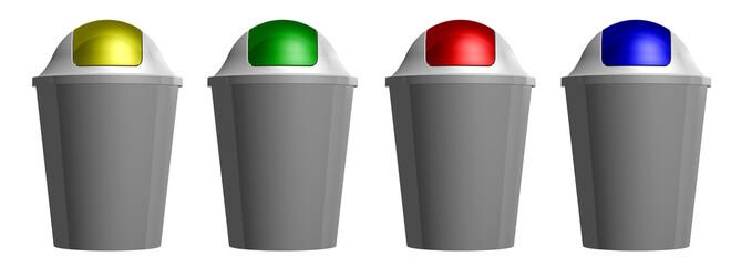 3D plastic bin