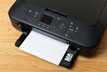 Domestic printer and paper