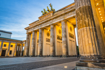 Berlin at Brandenburg Gate