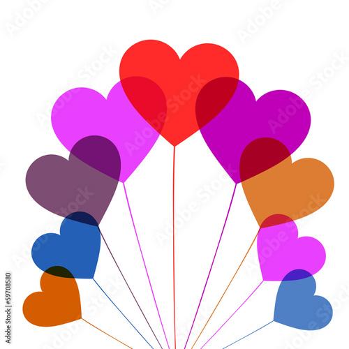 сердце любовь  святого валентина