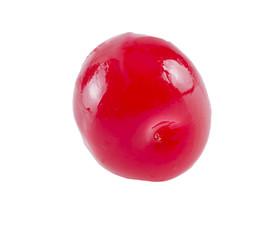 Maraschino cherry.