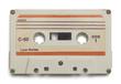 White Tape Cassette