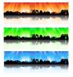 Beijing colorful Skyline Set