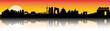Beijing Sunset Skyline