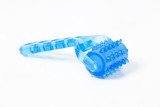 Plastic Massage Roller Isolated White Background