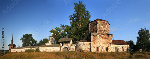 Orthodox Church in Russia, summer, travel