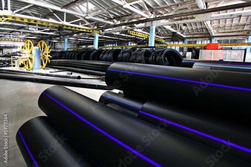 plastic water pipe industry