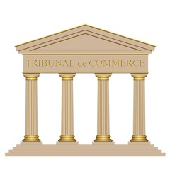 Façade tribunal de commerce