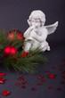Weihnachtsengel mit Posaune
