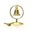 Tischglocke - Glocke - Gold