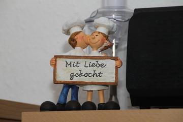 Figuren in der Küche
