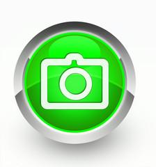 Knopf grün Camera