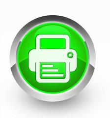 Knopf grün Drucker