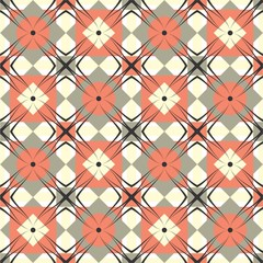 Geometric vintage raster background