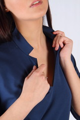 colletto di vestito da donna