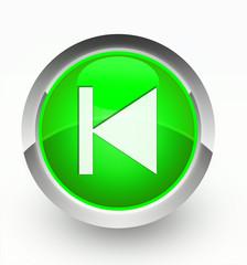 Knopf grün vorhergehend