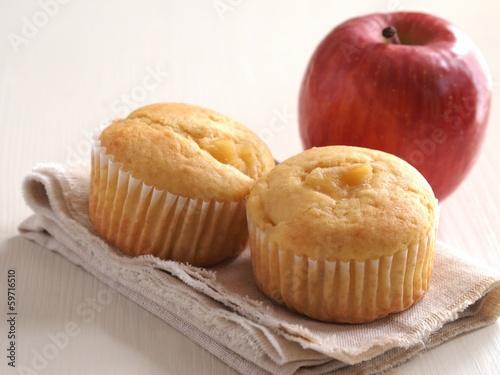りんごマフィン