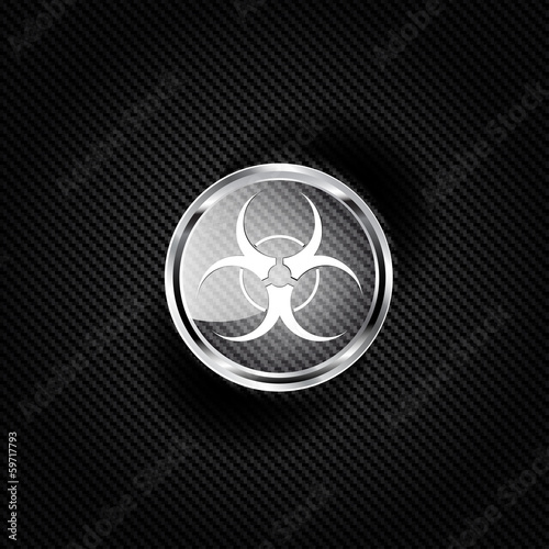 Biohazard icon,biological danger