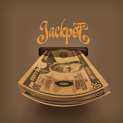 Jackpot. Vector format