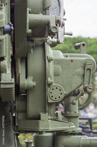 CANNON 90/53 MOD. 41- ITALIAN ARTILLERY WORLD WAR II:DETAIL OF T