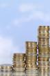 Geld Diagramm Thema Wachstum und Erfolg