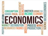 ECONOMICS - word cloud