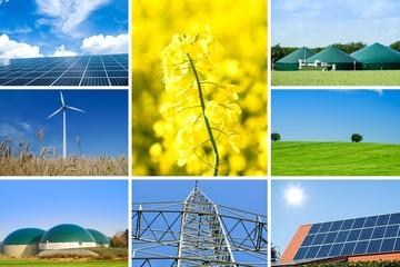 Alternative Energien, Collage
