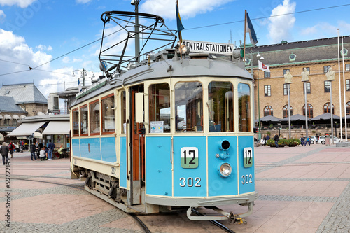 Historische Straßenbahn in Göteborg - 59722145