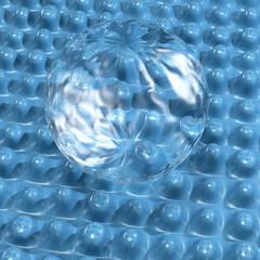 Nanoversiegelung - 3d Render