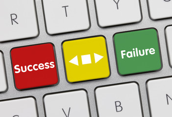 Success or failure. Keyboard