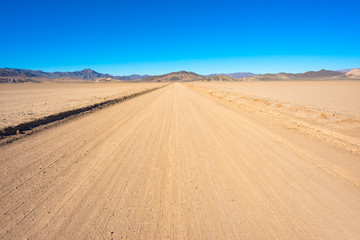 Off-road in California close to Death Valley National Park