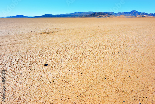 Dry soil in Death Valley