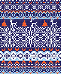 nordic pattern background