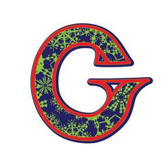 winter letter G