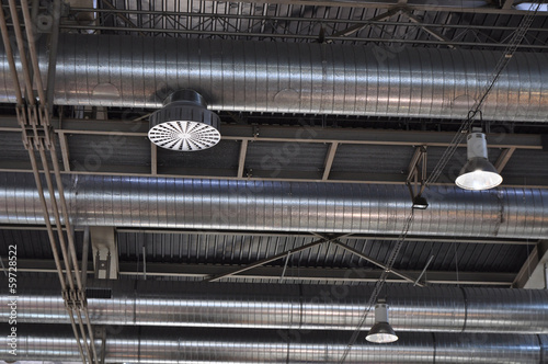 Industrial ducts, air conditioning