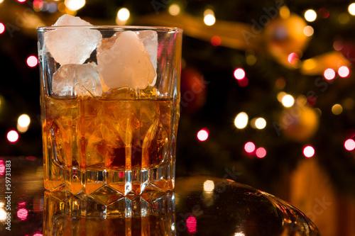 Poster Bar Christmas Cocktail