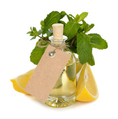 Essential oil of peppermint and lemon